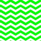 Green and White Zig Zag Chevron Pattern Iphone and Ipod Cases by Clickcreations