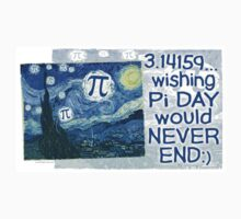 Wishing Pi Day Never Ends by MudgeStudios