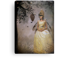 The Bee Charmer Metal Print
