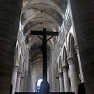 The Cathedral at Rouen (4) by Larry Davis