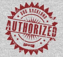 Bob Backlund Authorized (red alt.) by Bob Buel