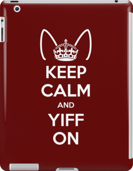 Keep Calm and Yiff On by kynewuff