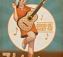 Tennessee Rocky Top Rockytop Retro Old School Image by sturgils