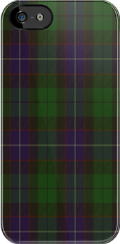 00013 Mitchell Clan Tartan Fabric Print Iphone Case by Detnecs2013