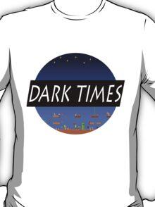 Dark Times Mario Logo T-Shirt