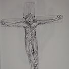 crucified for or morals by Andrew  Cain