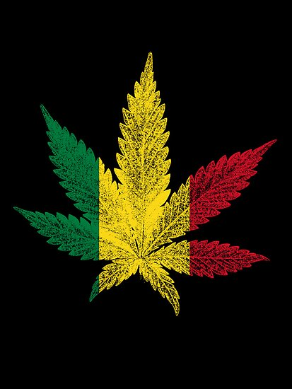 Rastafari Cannabis Leaf by Bela-Manson