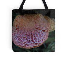 Pink Wrinkle Tote Bag