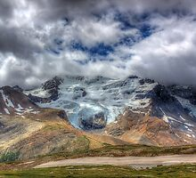 Mount Athabasca by JamesA1