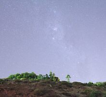 Marino Rocks under the Milky Way by BBCsImagery