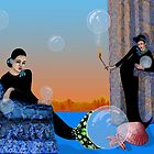 mermaids bubble-play by klaus grumbach