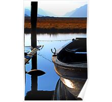 Snoozing Boat Poster