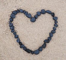 black stone heart by codaimages