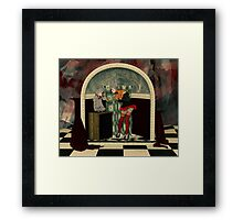The Puppet Show Framed Print