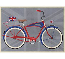British Bicycle Photographic Print