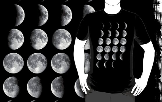 Moon Phases by nefos