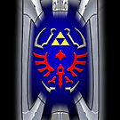 Link's shield Hylian Shield by aaronnaps