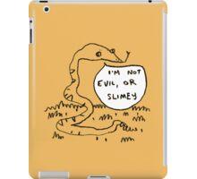 Snakes Aren't Evil iPad Case/Skin