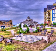 Gazebo at Blue Mountain  by John Velocci