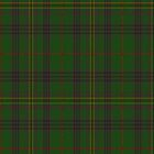 00032 Kennedy Clan Tartan fabric Print Iphone Case by Detnecs2013