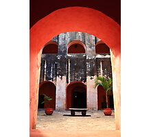 Archway to the Courtyard Photographic Print