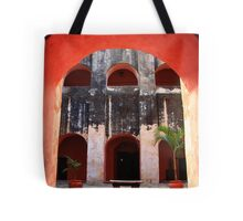 Archway to the Courtyard Tote Bag
