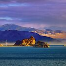 Moods of Pyramid Lake by SB  Sullivan