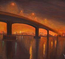 Itchen Bridge by Lukas Buvala