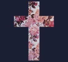 Floral Cross 3 Kids Clothes
