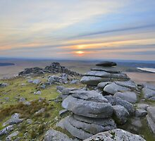 Cornwall: Last Light at Roughtor by Rob Parsons
