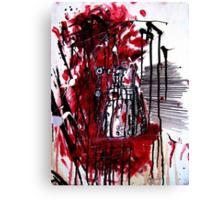 Dalek Exterminism Canvas Print
