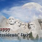 Presidents&#x27; Day Mt Rushmore by jkartlife