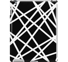 White Lines iPad Case/Skin