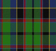 00070 Stevenson Clan Tartan Fabric Print Iphone Case by Detnecs2013