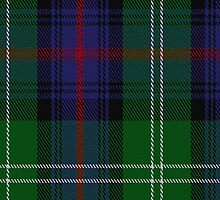 00072 Sutherland Clan Tartan Fabric Print Iphone Case by Detnecs2013