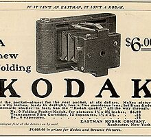 Old School Kodak Camera Photographer Classic by sturgils