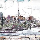 Elizabeth Bay, from Beare Park by John Douglas