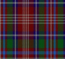 00083 Ritchie Clan Tartan Fabric Print Iphone Case by Detnecs2013