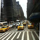 NY cabs. by aussiecandice