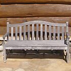 Wood Bench by TCbyT