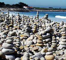 Pebble Beach California by Eva Kato