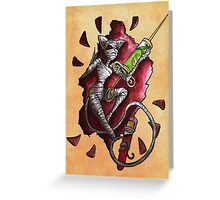 Assasin, Second Class in Pie Greeting Card