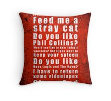 Psychosius Throw Pillow