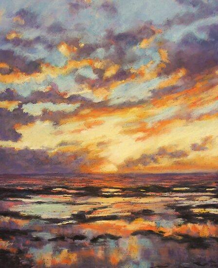 Sunrise - North Narrabeen rock pool by Terri Maddock