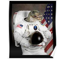 Astronautus Rex Poster