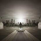 Guardians of the city by Adrian Donoghue