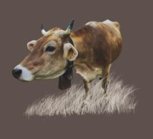Milk cow in the field Kids Clothes