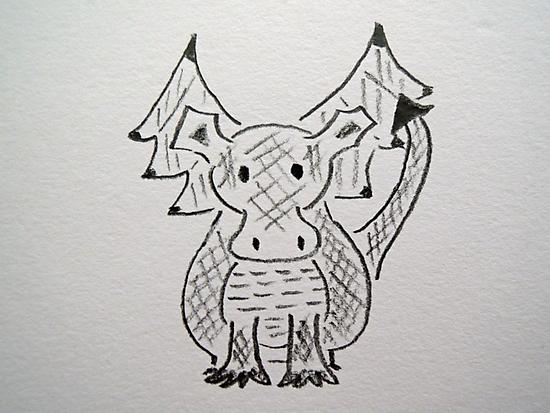 Little Dragon by CreativeEm