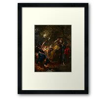 The Betrayal of Christ, c.1618-20 Framed Print
