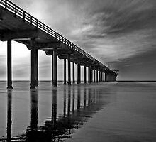 Scripps Pier 1 by Jeff Clark